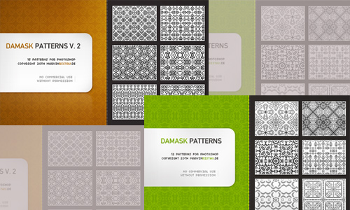 Damask Patterns and Damask Patterns V2