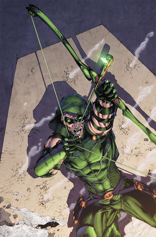 Green Arrow 1 cover