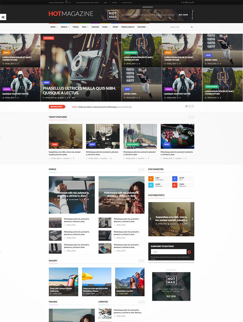 comprehensive magazine website
