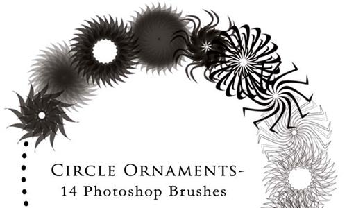 Circle Ornament Brushes