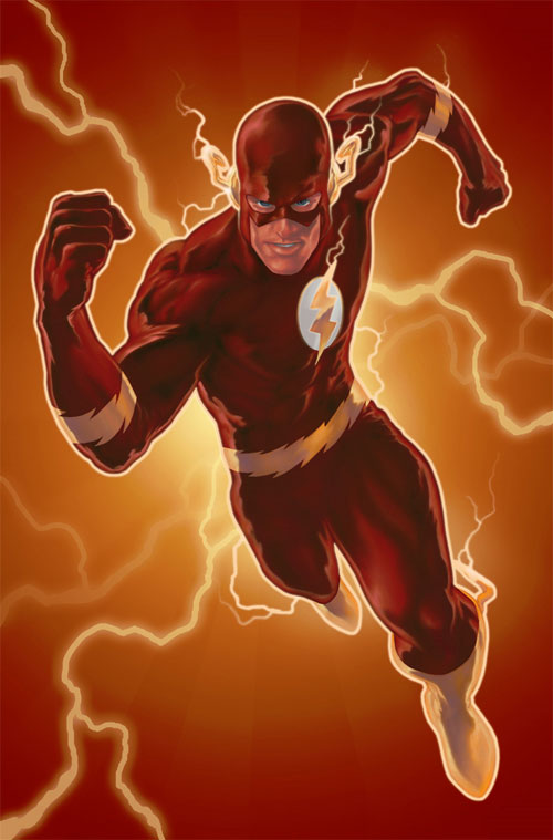 The Flash colored