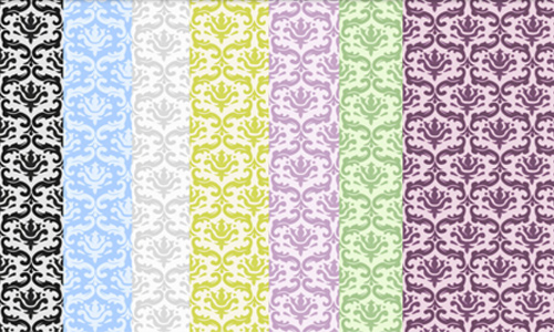 Light Damask Textures