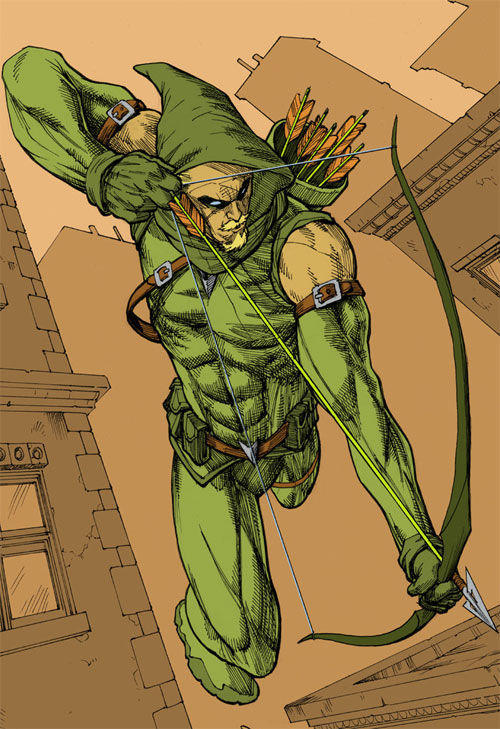 Green Arrow Colors