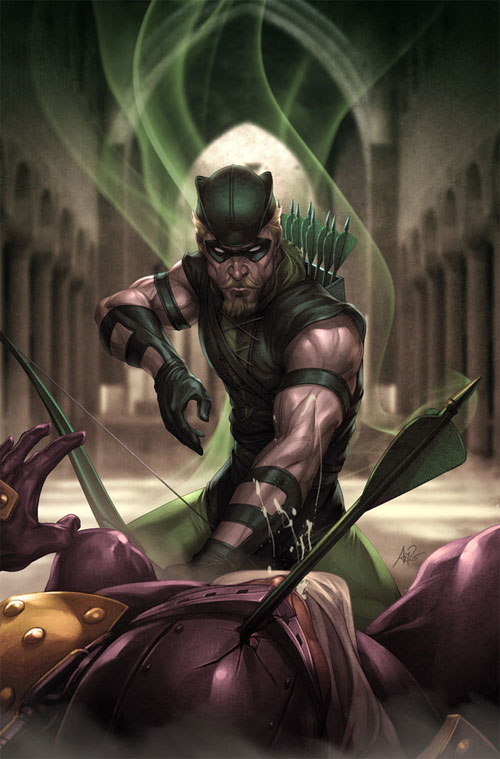 JL Rise and Fall: GREEN ARROW
