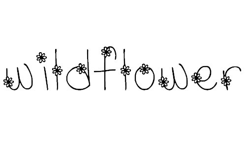 MTF Wildflower font