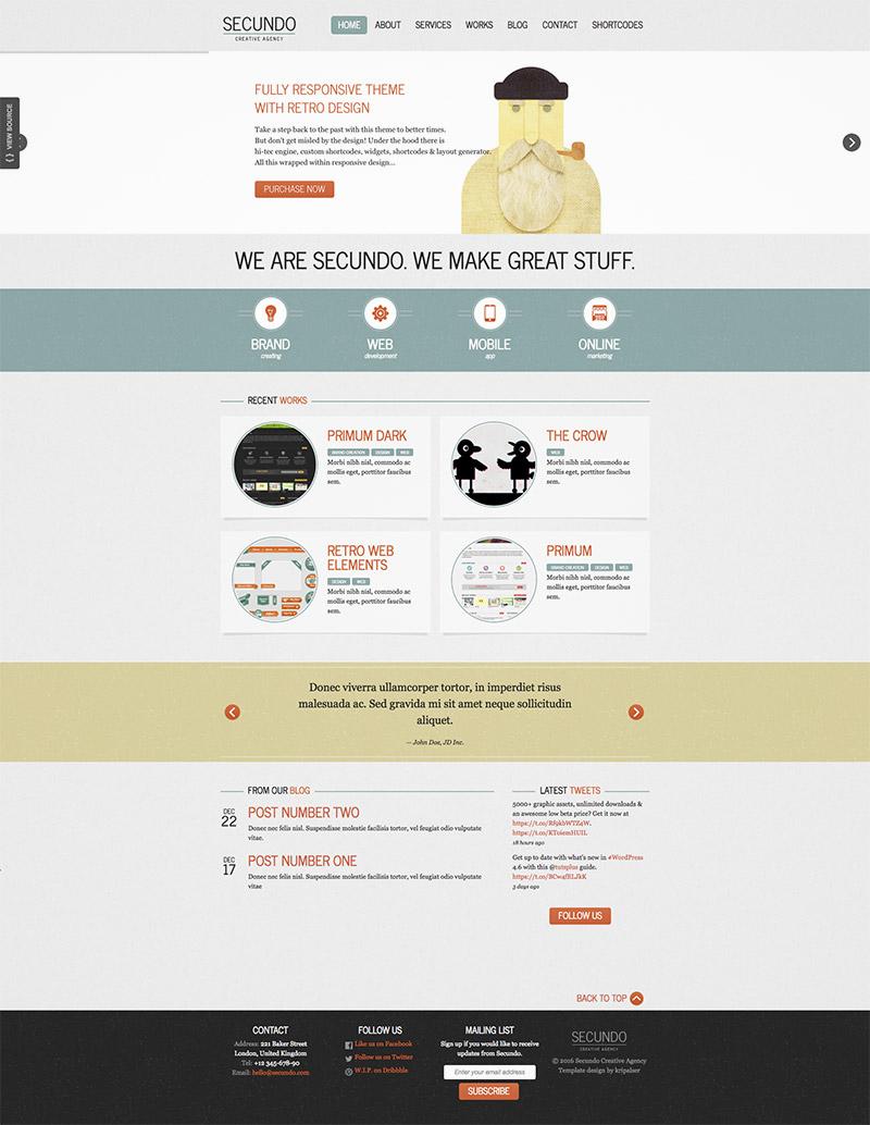 premium responsive wordpress