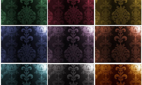 Damask Pattern Dark