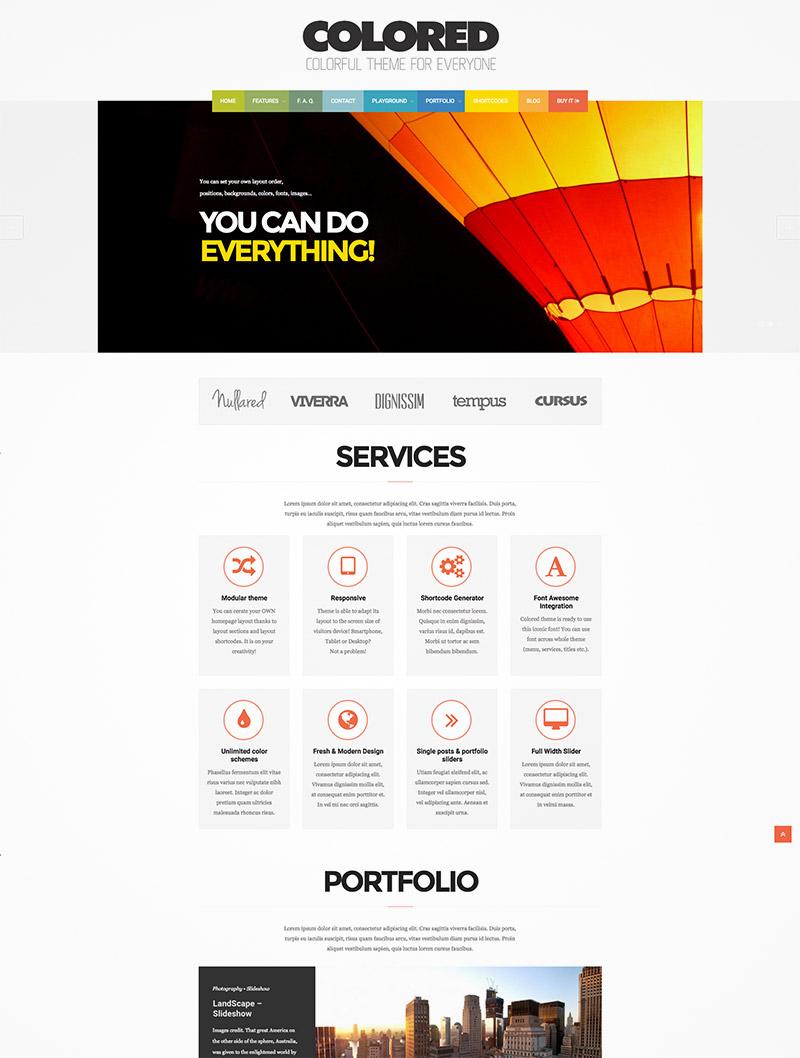 photo portfolio responsive