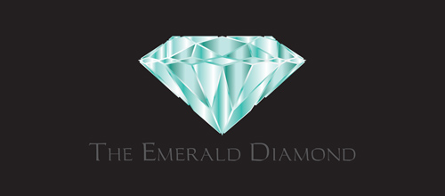 The Emerald Diamond logo