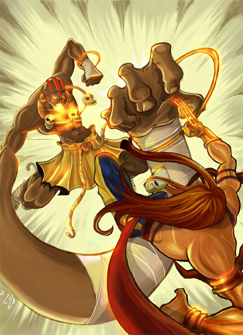 Street Fighter Dhalsim Vs Vega