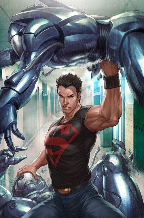 Superboy 4 Variant Cover