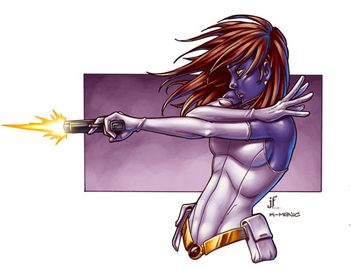 mystique colored