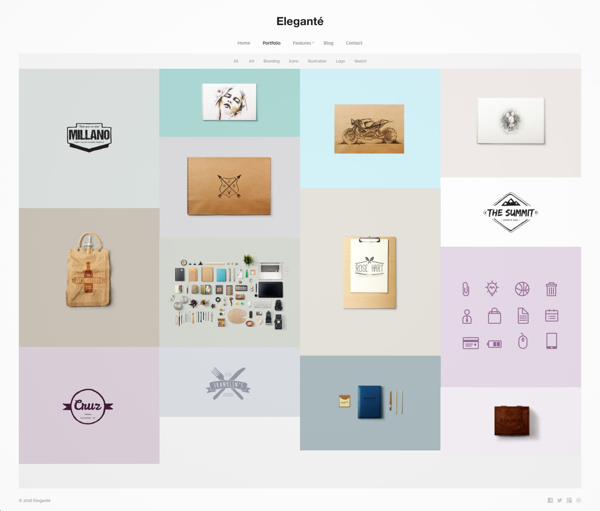 minimal themes wordpress