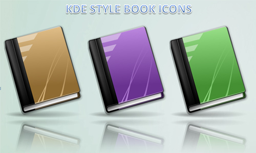 KDE 4 style book icons