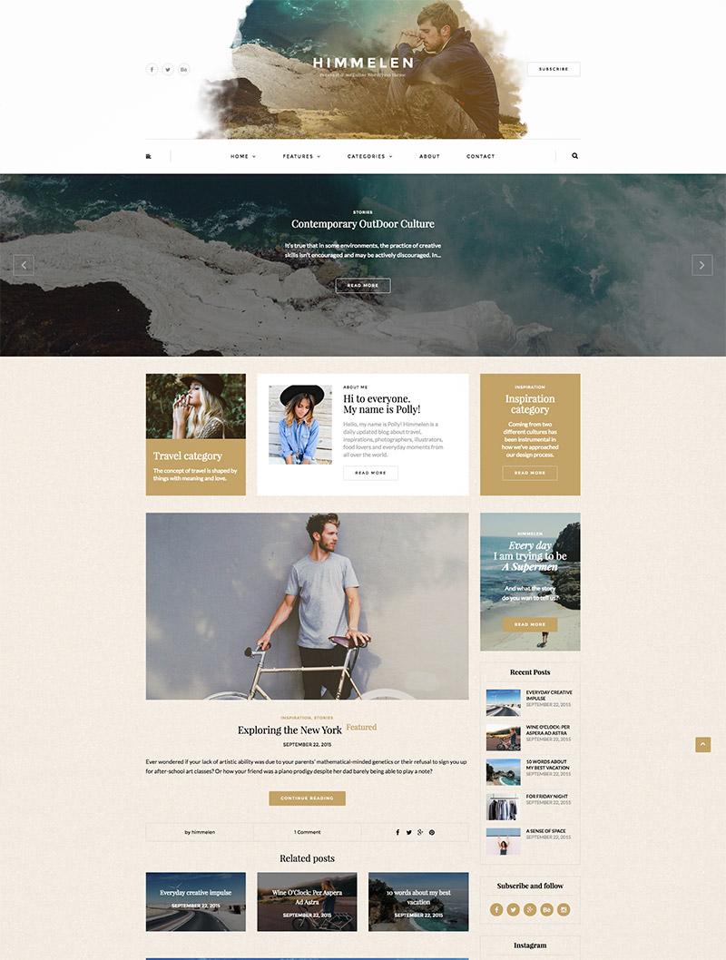 personal wordpress blog
