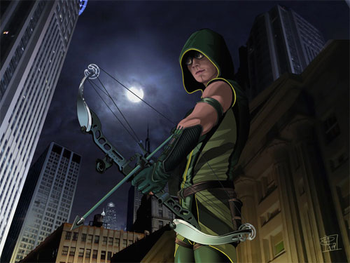 Green Arrow rocks
