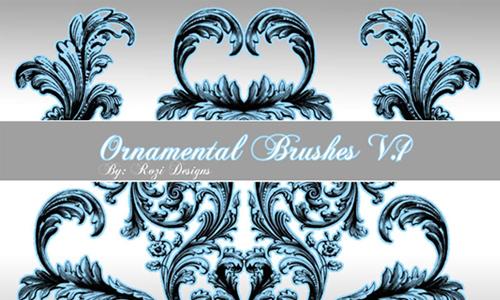 Ornamental Brushes