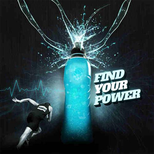 Design an Eye Catching Energy Drink Advertisement