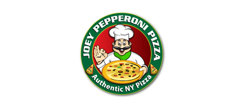 JOEY PEPPERONI PIZZA logo