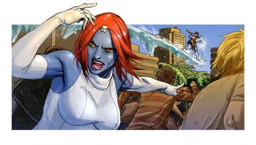 Mystique from C and D