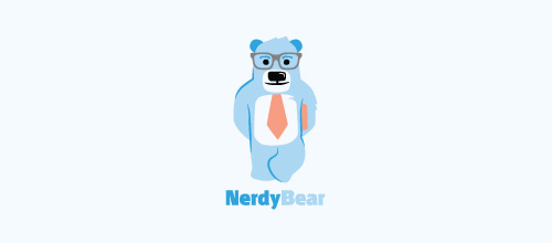 Nerdy Bear logo