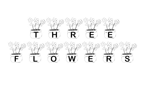free flower pot fonts