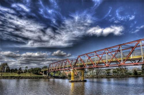 Maribyrnong River Melbourne