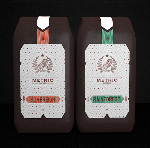 Metrio Coffee Packagin