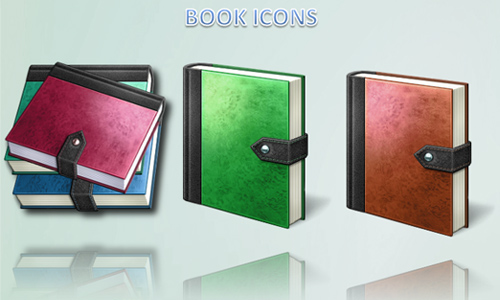 Vista book icons