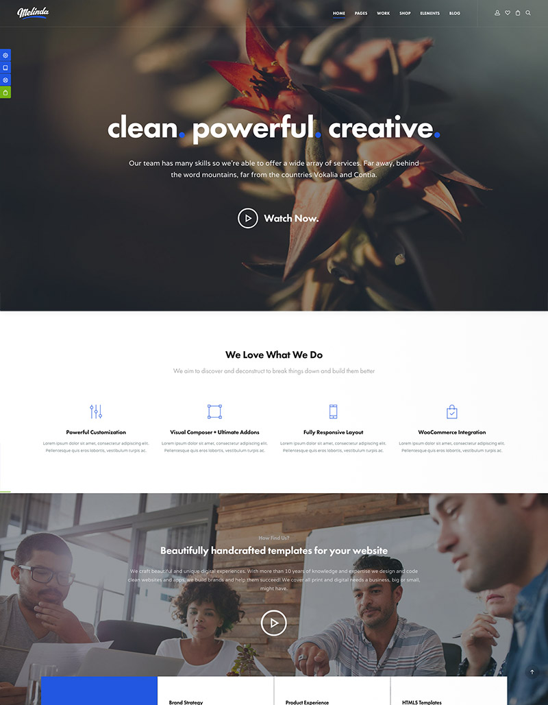 business portfolio wordpress