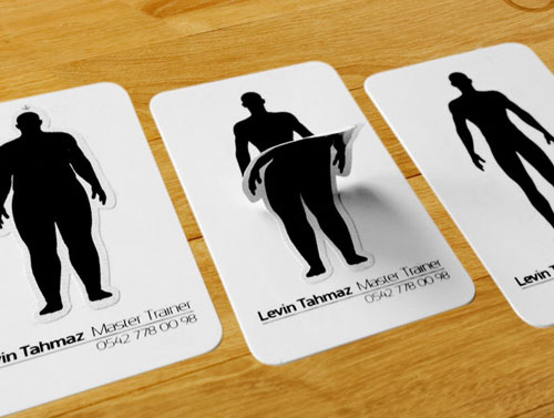 A new collection of unusual business card naldz graphics business card for levin tahmaz reheart Image collections