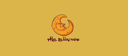 the yellow moon logo