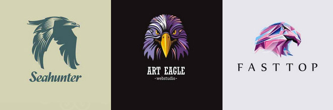 Eagle logo design Vector  Premium Download