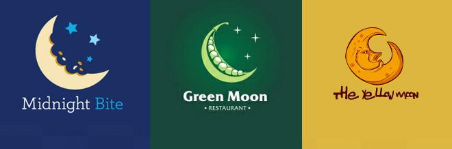 30 Creative Moon Logo Designs