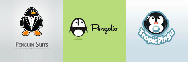 30 Fascinating Designs of Penguin Logo