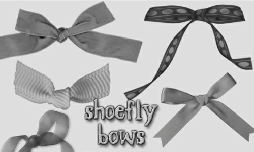 Bows brush set