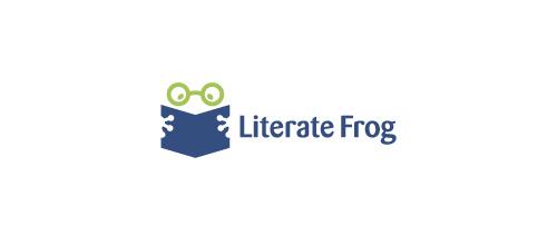 Literate Frog logo