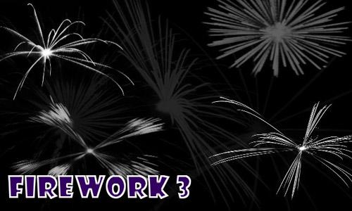 photoshop brushes fireworks