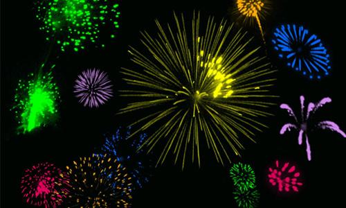 53 Fireworks Brushes