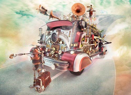 Making of Steampunk Faith
