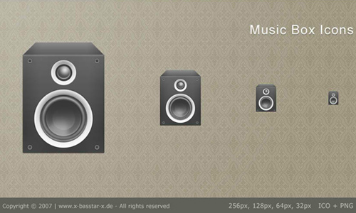 Music Box Icon Packet