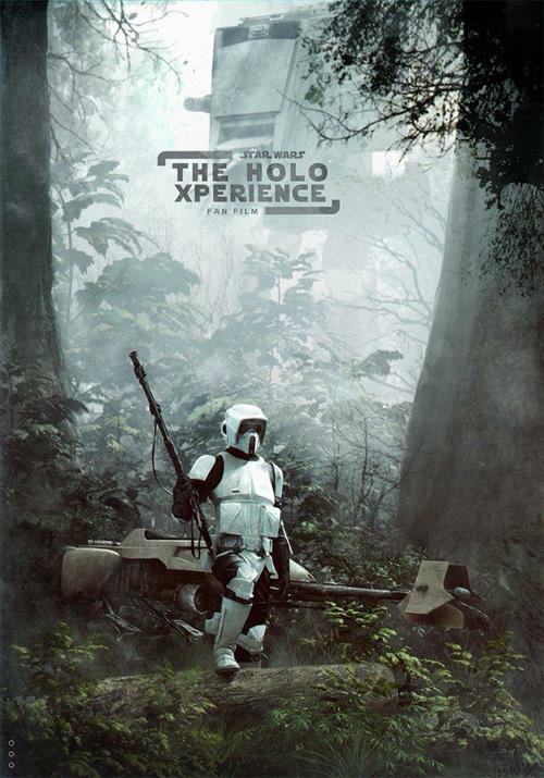 Making of Star Wars Fan Film Poster