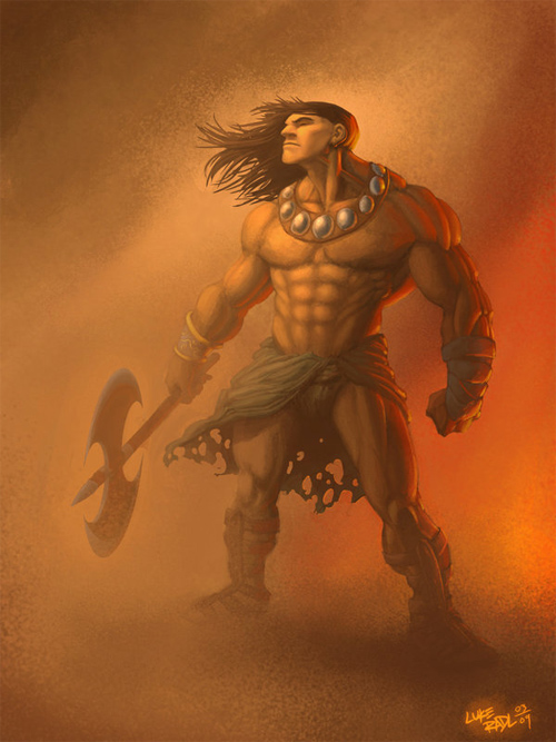 Conan concept painting