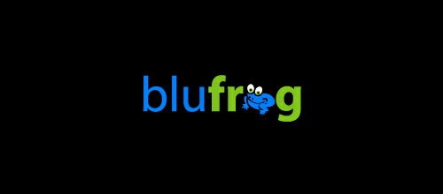 blu frog logo