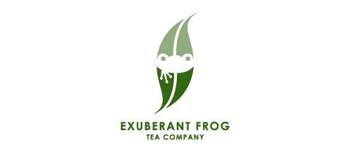 Exuberant Frog Tea Company logo