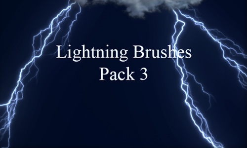 Lightning Brushes Pack 3