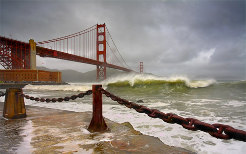 Frisco: Golden Gate wallpapers