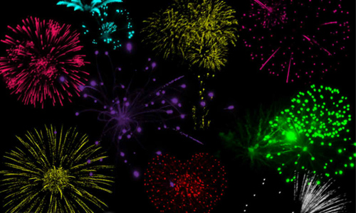 Fireworks Brush 2