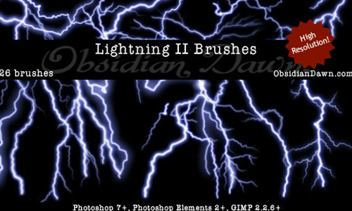 Lightning II Brushes