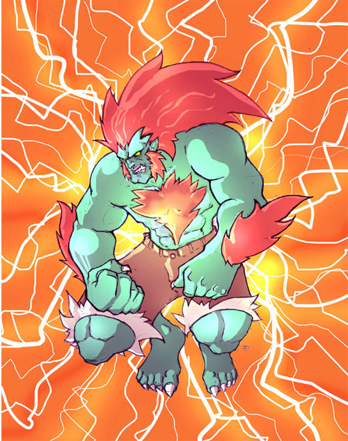 Street Fighter: Blanka
